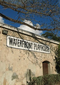 History of the Waterfront Playhouse:  Reception at the Custom House