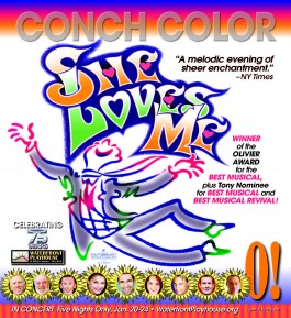 COVER CColor SHE LOVES ME