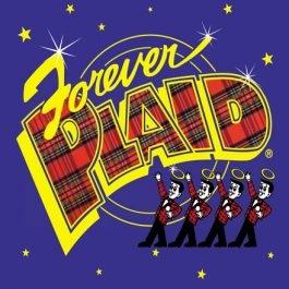 Forever Plaid logo WEB