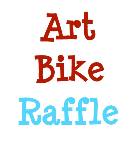 Art Bike Raffle