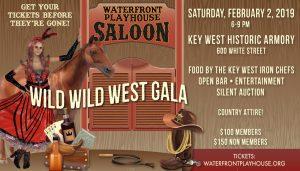 Waterfront Playhouse Wild West Gala 2019