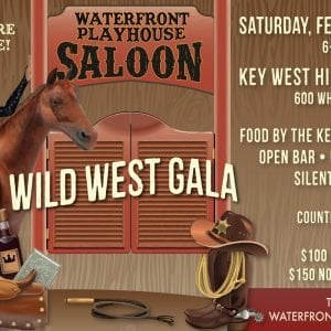 Waterfront Playhouse Wild West Gala 2019