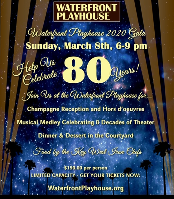 waterfront playhouse Gala eblast invite 2020